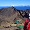 Walking and falling on the Tongariro Alpine Crossing