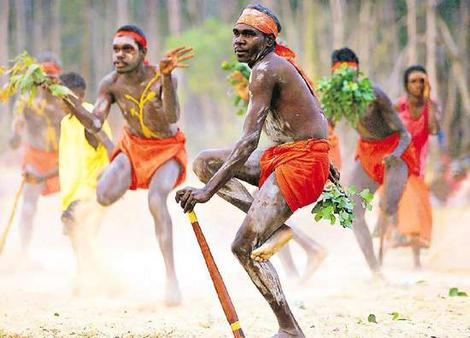 Photo of Aborigines of Australia courtesy