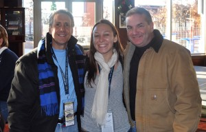Stand-up guys, my dad, myself and my uncle at McFadden's at the Park in Philadelphia before the Army/Navy game last year.