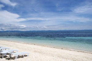 Malapascua Island in the Philippines offers clear blue waters and sky, worth the arduous journey. Photo by Richard John Hackey
