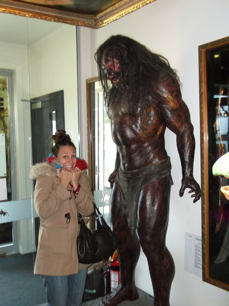 Orcs are even scarier in person.