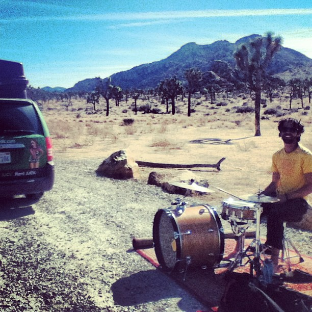 Drummer Joshua Tree National Park